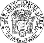 NJ Certified Attorney Award