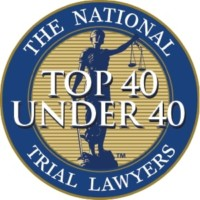 Top 40 Under 40 Award by the National Trial Lawyers Association